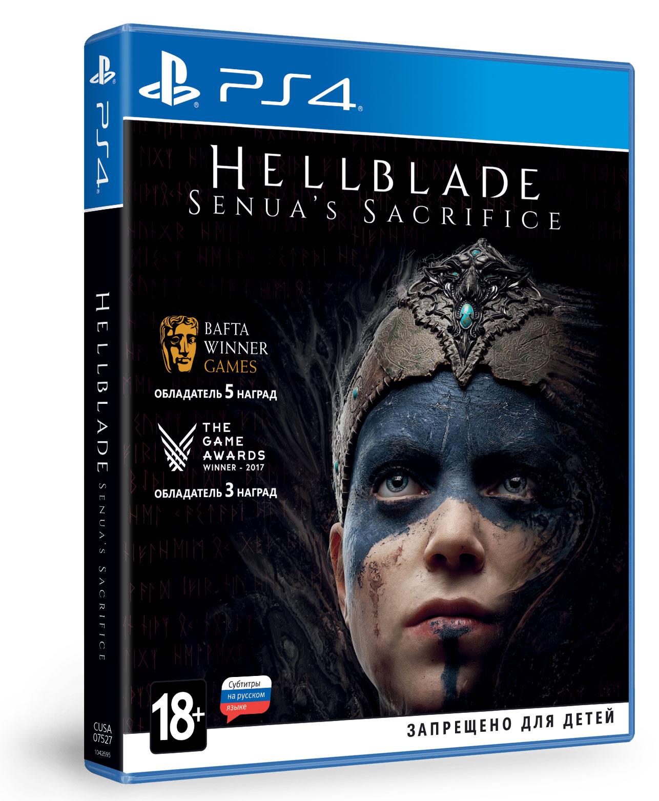 Hellblade: Senua's Sacrifice (PS4) dmc devil may cry definitive edition игра для xbox one