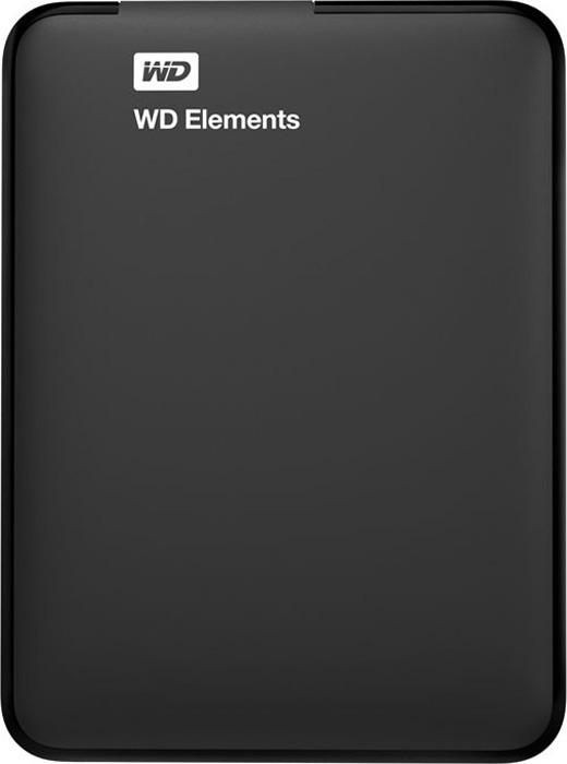 WD Elements Portable 500GB, USB 3.0 внешний жесткий диск (WDBUZG5000ABK-WESN)