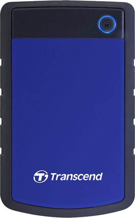 Transcend StoreJet 25H3 1TB, Blue внешний жесткий диск (TS1TSJ25H3B)