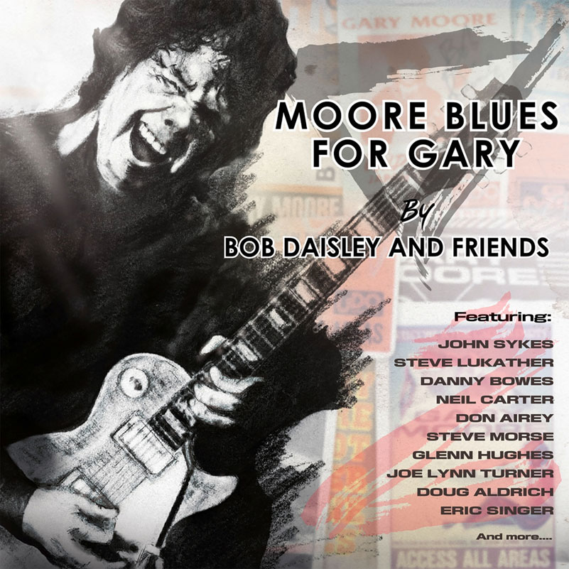 Боб Дейсли Bob Daisley And Friends. Moore Blues For Garry leaf rhinestone ear cuff and stud earring