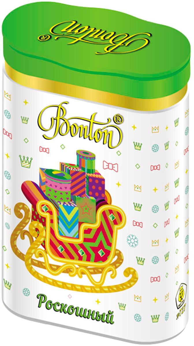 Чай зеленый байховый Бонтон Роскошный, китайский крупнолистовой №727, 100 г kwinst чай зеленый китайский 100 шт