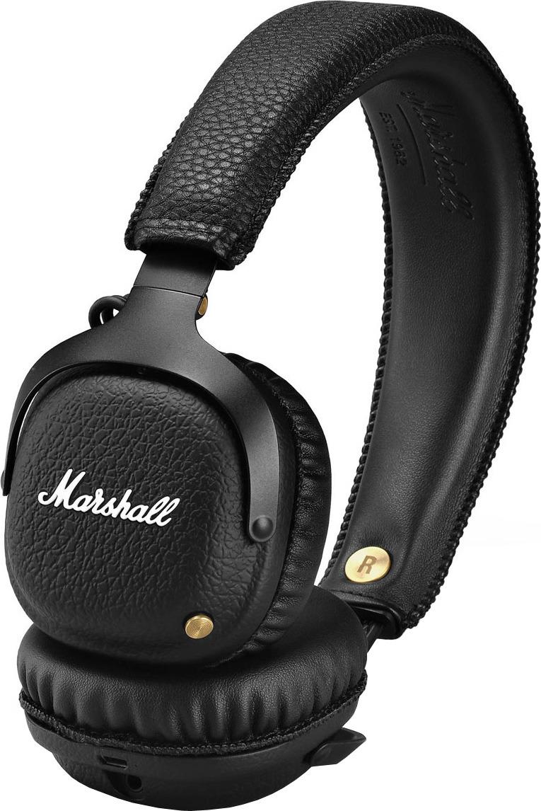 Marshall Mid Bluetooth, Black беспроводные наушники marshall mode black наушники comply