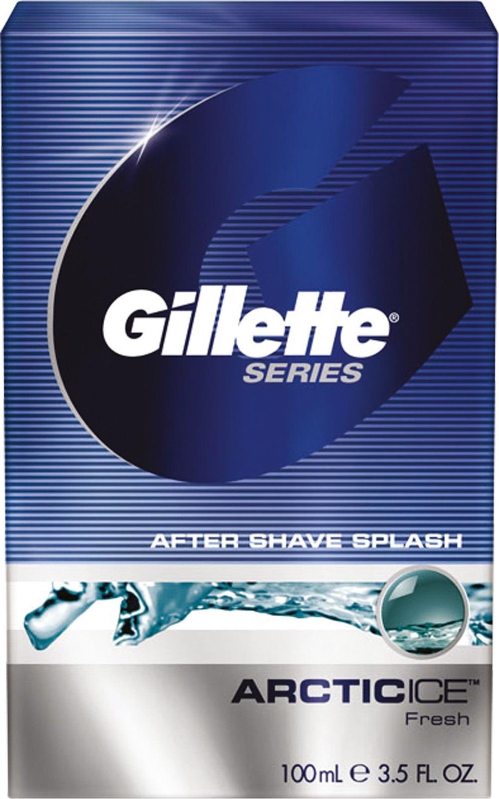 Лосьон после бритья Gillette Series Arctic Ice Бодрящий, 100 мл gillette лосьон после бритья cool wave 100 мл page 2