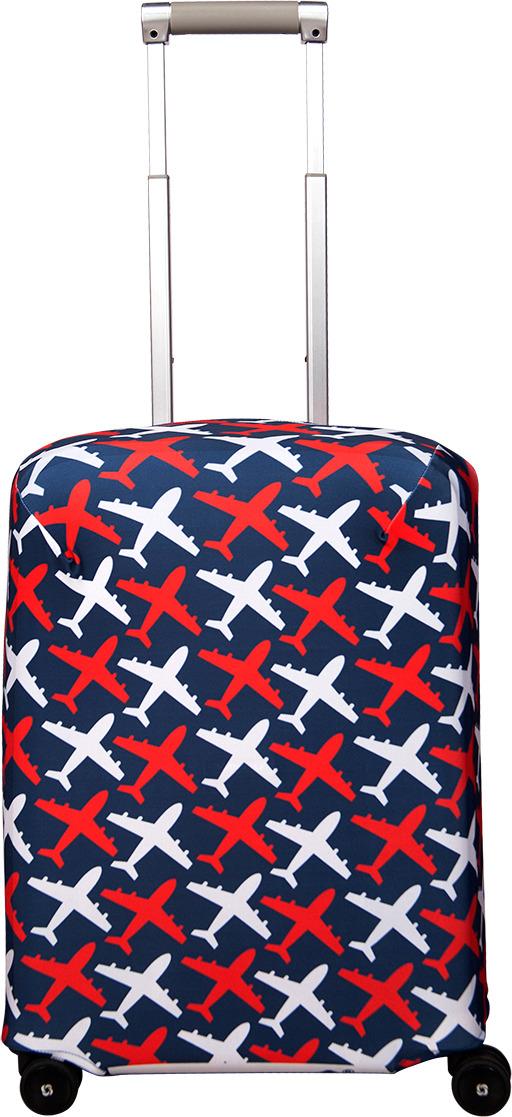 Чехол для чемодана Routemark Avion, цвет: синий, размер S (50-55 см)