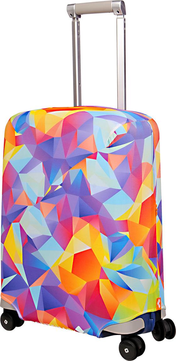 Чехол для чемодана Routemark Fable, цвет: мультиколор, размер S (50-55 см)