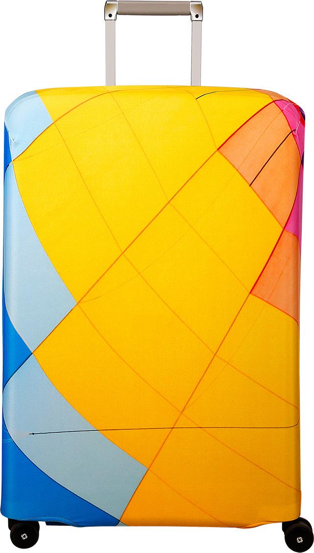 Чехол для чемодана Routemark Aerostat, цвет: мультиколор, размер L/XL (75-85 см)