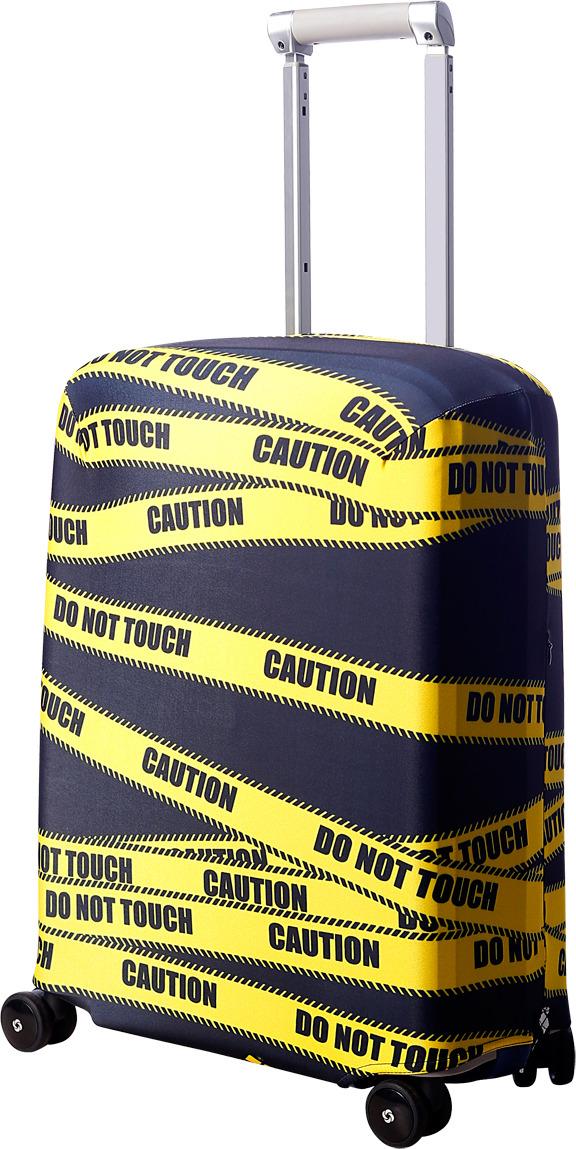 Чехол для чемодана Routemark Даже не щупать, цвет: черный, размер S (50-55 см)