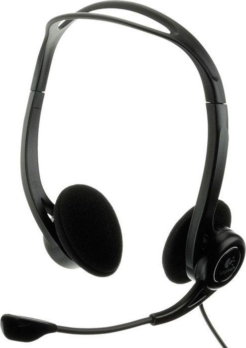 все цены на Компьютерная гарнитура Logitech PC Headset 960 USB (981-000100) онлайн