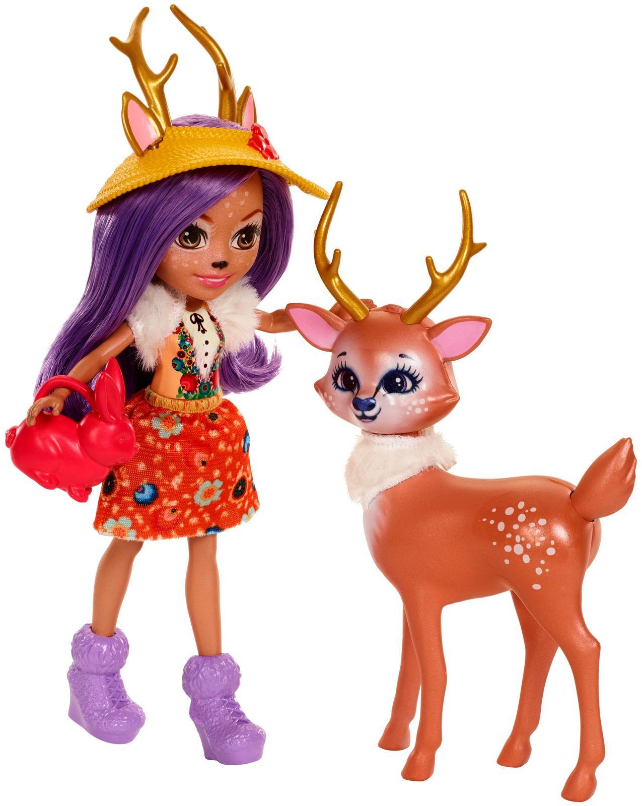 Enchantimals Игровой набор с куклой Garden Magic, Куклы и аксессуары  - купить со скидкой