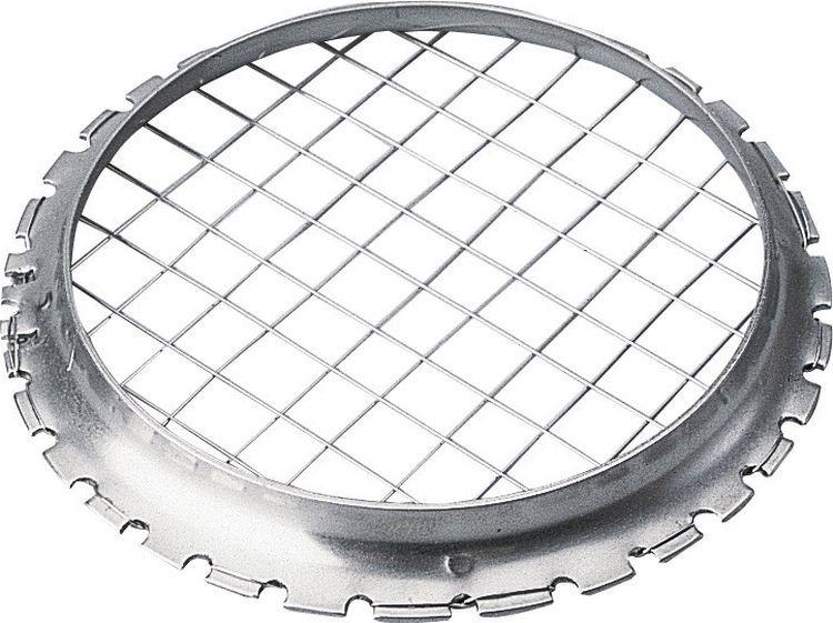 """Струнная овощерезка """"Tescoma"""" изготовлена из первоклассной нержавеющей стали. Это несомненный помощник в нарезке овощей для салатов на кубики или соломкой. Характеристики: Материал:  сталь.  Диаметр:   9 см. Размер ячейки:  0,7 х 0,7 см. Производитель: Чехия. Артикул: 420640."""