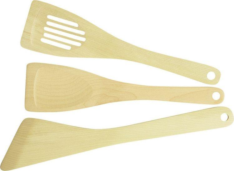 Набор кухонных лопаток Tescoma Woody, 3 предмета набор формочек для выпечки tescoma 3 шт 631590