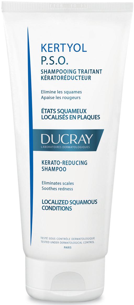 "Ducray P.S.O. Шампунь ""Kertyol"" уменьшающий шелушение кожи головы 125 мл"