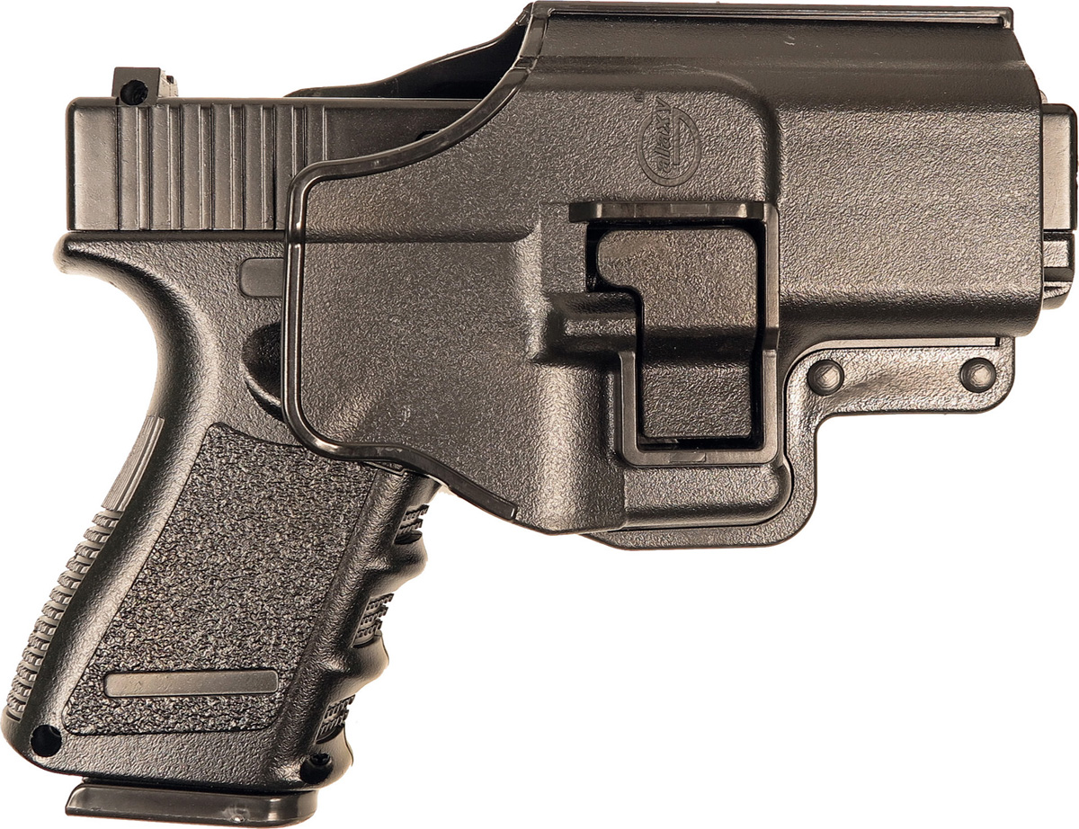 Пистолет софтэйр Galaxy G.15+, с кобурой, пружинный, цвет: черный, 6 мм