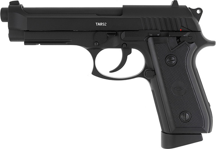 Пистолет пневматический Gletcher TAR92, цвет: черный gletcher запасной магазин обойма для gletcher tt tt nbb