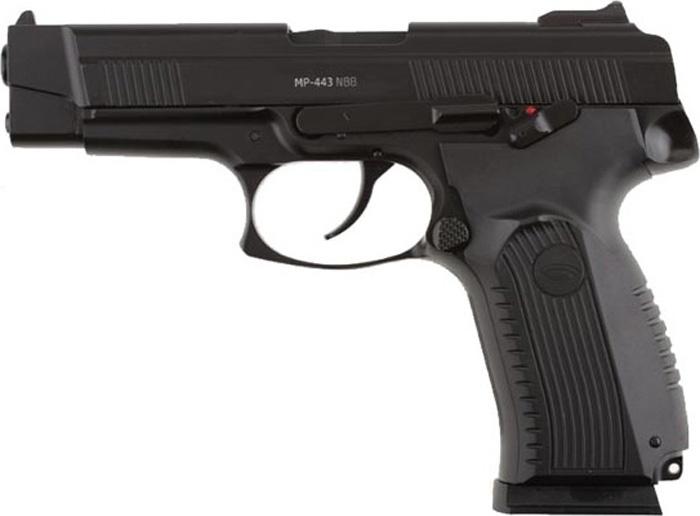 Пистолет пневматический Gletcher MP-443 nbb, цвет: черный gletcher запасной магазин обойма для gletcher tt tt nbb