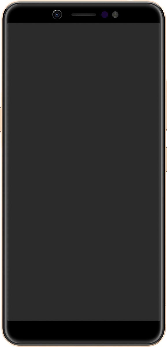 Смартфон ITEL A44 DS, ITL-A44-CHGL, Champagne Gold