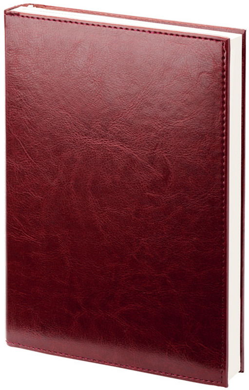 Ежедневник Attache Agenda, недатированный, 144 листа, 556052, бордовый ежедневник gy gs leather ring binder folder ring binder for agenda organzier gl so rbf06a5