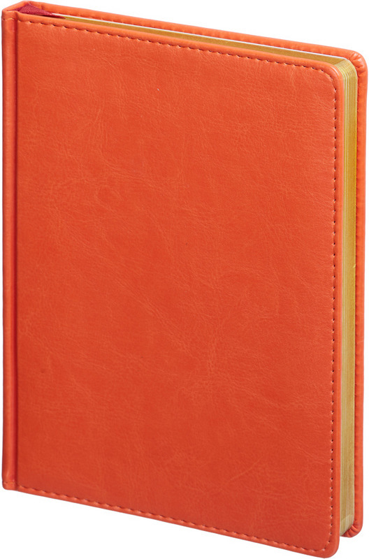 Ежедневник Attache Sidney Nebraska, недатированный, 136 листов, 562980, оранжевый ежедневник 80 листов а5 папирус 18217