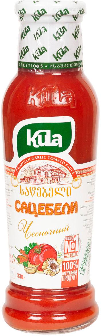Соус Kula Сацебели чесночный, 330 г соус kuhne чесночный сливочно пикантный