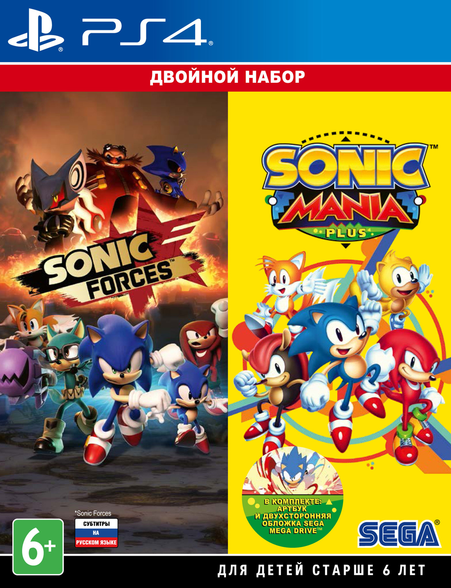 Sonic Forces + Sonic Mania Plus (PS4) ultrasonic sonic electric toothbrush s100 5 models wireless rechargeable battery ipx7 waterproof inductive charger led indicator