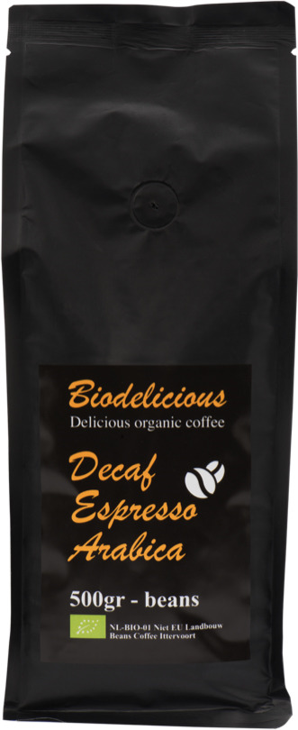 Кофе в зернах Biodelicious Эспрессо Арабика, 500 г