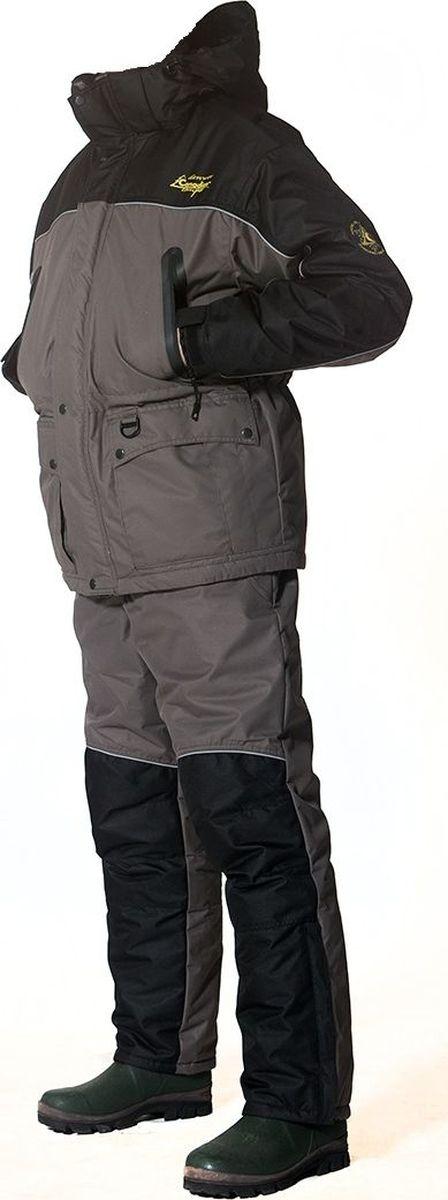 Костюм рыболовный Canadian Camper Denwer: куртка, брюки, цвет: оливковый. Denwer_Stone. Размер 56/58-182/188