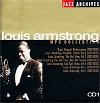 Луи Армстронг Jazz Archives. Louis Armstrong. CD 1. MP3 Collection louis armstrong and duke ellington the great reunion lp
