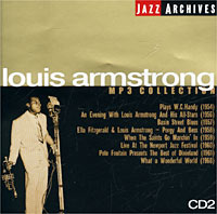 Луи Армстронг Jazz Archives. Louis Armstrong. CD 2. MP3 Collection louis armstrong and duke ellington the great reunion lp