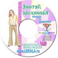 ЖУРНАЛ МОДЕЛЕЙ № 20 Подростковая одежда + Пароль для заказа лекал (5 выкроек)