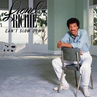 ''Can't Slow Down'' - второй сольный альбом Lionel Richie, который принес ему мировую популярность и статус одного из самых авторитетных музыкантов.  Lionel Richie с детства готовил себя к карьере священника. После поступления в университет Lionel понял, что к музыке его тянет гораздо сильнее, чем к Господу - так в середине 60-х годов он организовал несколько университетских ритм-энд-блюзовых групп, имевших стабильный региональный успех. В 1968 году Lionel Richie стал ведущим вокалистом и саксофонистом группы Commodores. К концу 70-х некоторые критики называли Commodores одной из самых сильных соул-групп Америки. Именно Lionel Richie создавал и пел самые изветные хиты группы: ''Easy'', ''Three Times A Lady'' и ''Still''. Сочный, богатый вокал Lionel Richie и его композиторские способности выделяли музыканта среди остальных членов Commodors, и в самом конце 70-х композиции Lionel Richie и его голос стали пользоваться спросом у ведущих исполнителей США. В 1980 году Lionel написал композицию ''Lady'', которая в исполнении Кенни Роджерса стала всеамериканским хитом № 1, а спустя год продюсировал альбом Роджерса ''Share Your Love''.  В том же 1981 году музыкант записал дуэтом с Дайаной Росс центральную песню к одноименному фильму режиссера Франка Дзеффирелли ''Endless Love''. Выпущенная на сингле, ''Endless Love'' возглавила американский хит-парад. Данный факт подтолкнул Lionel Richie начать в 1982 году сольную карьеру. В дебютный альбом вошла еще одна композиция, занявшая в национальном хит-параде первое место - ''Truly'', сделанная в лучших традициях и стилистике Commodores.  В 1983 году исполнитель записал новый альбом ''Can't Slow Down'', который, был продан тиражом 15 миллионов экземпляров. Сингл ''All Night Long'' и альбом были удостоены ''Грэмми'' в номинациях ''лучшая песня года'' и ''лучший альбом года''. Одновременно с синглом вышел и видеоклип, который продюсировал бывший лидер The Monkees Майкл Несмит. Среди нескольких других хит-синглов, достигших американск