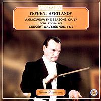 The London Philharmonic Orchestra,Евгений Светланов Ye. Svetlanov. A. Glazunov. The Seasons балет щелкунчик
