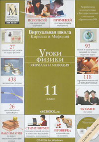 Уроки физики Кирилла и Мефодия. 11 класс (DVD-BOX)