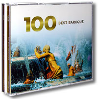 Best Baroque 100 (6 CD) херберт ташеци das alte werk herbert tachezi renaissance and baroque organ music 3 cd