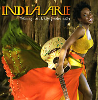 Альбом популярной американской певицы India.Arie.