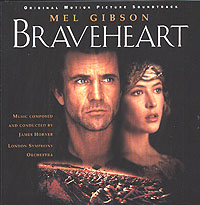 The London Symphony Orchestra,Джеймс Хорнер Braveheart. Original Motion Picture Sondtrack