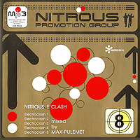 Max-Pulemet / DJ Max Pulemet Nitrous E'Clash. Mixed By Max-Pulemet. Vol. 8 (mp3) цены онлайн
