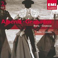 Aldo Ciccolini. Albeniz: Iberia / Granados: Goyescas (2 CD)