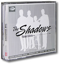 The Shadows The Shadows. The Platinum Collection (2 CD + DVD) eset nod32 антивирус platinum edition 3 пк 2 года