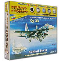 Истребитель Cy-33 представляет собой тяжелый палубный истребитель созданный на базе истребителя Су-27. Предназначен для противовоздушной обороны кораблей ВМФ от средств воздушного нападения противника. Снабжен системой дозаправки топливом в воздухе. Вооружение Су-33 включает встроенную пушку, противокорабельную ракету, а также ракеты класса воздух-воздух. Может выполнять боевую задачу днем и ночью в любых метеоусловиях. Для того чтобы Ваш ребенок вырос разносторонне развитым, ему необходимо постоянно получать новые знания. Это совершенно несложно сделать в процессе игры. Мы предлагаем ему собрать модель легендарного палубного истребителя Су - 33, которая как нельзя лучше подходит для этого. Игра разовьет усидчивость, аккуратность, пространственное мышление юного конструктора... и, наконец, просто пополнит коллекцию его игрушек!