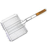 Решетка-гриль «Forester» объемная, 26 х 38 х 6 смSC007Решетка-гриль Forester предназначена для приготовления пищи на углях. Изготовлена из высококачественной стали с пищевым никелированнымпокрытием. Идеально подходит для запекания продуктов различной толщины. Характеристики: Артикль:BQ-N03. Материал: сталь. Размер решетки: 26 см х 38 см.FORESTER - брэнд с широкими интернациональными традициями и в этом секрет его успеха.FORESTER впитал в себя самое лучшее из созданного предшественниками, поэтому продукция фирмы - это все самое качественноедля вашего пикника! Разработано компанией Ruyan Co, Германия.