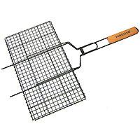 Решетка-гриль «Forester» с антипригарным покрытием,26 х 45 смBQ-NS02Решетка-гриль Forester предназначена для приготовления пищи на углях. Изготовлена из высококачественной стали с антипригарным покрытием. Идеально подходит для мангалов и барбекю. Характеристики: Артикль:BQ-NS02. Материал: сталь. Размер решетки: 26 см х 45 см.FORESTER - брэнд с широкими интернациональными традициями и в этом секрет его успеха.FORESTER впитал в себя самое лучшее из созданного предшественниками, поэтому продукция фирмы - это все самое качественноедля вашего пикника! Разработано компанией Ruyan Co, Германия.