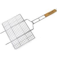 Решетка-гриль «Forester», 26 х 35 см54 009312Решетка-гриль Forester предназначена для приготовления пищи на углях. Изготовлена из высококачественной стали с пищевым никелированным покрытием. Идеально подходит для мангалов и барбекю. Характеристики: Артикль:BQ-N01. Материал: сталь. Размер решетки: 26 см х 35 см.FORESTER - брэнд с широкими интернациональными традициями и в этом секрет его успеха.FORESTER впитал в себя самоелучшее из созданного предшественниками, поэтому продукция фирмы - это все самое качественноедля вашего пикника! Разработано компанией Ruyan Co, Германия.