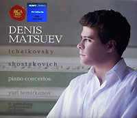 На диске представлены произведения Петра Чайковского и Дмитрия Шостаковича в исполнении Дениса Мацуева.