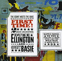 Каунт Бэйси,Дюк Эллингтон Duke Ellington, Count Basie. Duke Ellington Meets Count Basie louis armstrong and duke ellington the great reunion lp