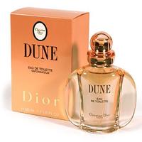 Christian Dior Dune. Туалетная вода, женская, 50мл1301210Dune находится в гармонии с началом 90-ых, выражая потребность в спокойствии и возвращении к человеческим ценностям. Дюна эмансипирует женщин, усиливая их интуитивную сторону. Забудьте обо всем на некоторое время. Пристально взгляните на океан, обнимите руками ваши колени, расслабьтесь, наслаждайтесь тем, что вы наконец-то можете побыть собой… Необычный аромат несет терпкий соленый запах моря, смешавшийся с морским ветром и теплотой песчаных пляжей. Постоянно изменяющийся, пульсирующий аромат.Классификация аромата:восточный, ванильный. Пирамида аромата:Верхние ноты: бергамот, мандарин, красное дерево, альдегиды.Ноты сердца:жасмин, роза, иланг-иланг. Ноты шлейфа: ваниль, пачули, бензоин, сандал.Ключевые слова: Сладкий, теплый и чувственный. Характеристики:Производитель: Франция. Годвыпуска: 1991. Объем: 50 мл. Форма выпуска: флакон. Туалетная вода - один из самых популярных видов парфюмерной продукции. Туалетная вода содержит 4-10%парфюмерного экстракта. Главные достоинства данного типа продукции заключаются в доступной цене, разнообразии форматов (как правило, 30, 50, 75, 100 мл), удобстве использования (чаще всего - спрей). Идеальна для дневного использования. Товар сертифицирован.