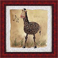 Жираф на сафари (Alex Clark). 18 х 18 см25051 7_желтыйХудожественная репродукция картины Alex Clark Giraffe on Safari.Размер постера (без багетной рамы): 18 см x 18 см.Общий размер постера: 21 см x 21 см.Артикул: 18x18 D2062-10418. Изображение нанесено на чрезвычайно плотную основу (это не бумага и не картон) и обрамлено в багет.Технология изготовления арт-постеров подразумевает обязательную художественную ламинацию каждого изображения, чтопридает картине дополнительную ценность, а также защищает поверхность от загрязнения, повреждений (в том числе попыток помять, исцарапать изображение), влаги и ультрафиолетовых лучей. Арт-постеры совершенно спокойно перенесут не одну зиму в дачном или загородном доме.Ламинирование может значительно улучшить качество изображения. Использование пленок дает различную фактуру лицевой поверхности изображения (глянцевую, матовую, холщевую, ситцевую, льняную и другие). Например, при использовании глянцевых пленок изображение проявляется - краски становятся более контрастными исочными. Технология художественного ламинирования максимально приближает изображение к натуральной картине (холст, масло), акварели.Отличить арт-постер, изготовленный по такой технологии, от копии, нарисованной художником, можно лишь при детальном пристальном рассмотрении. Рассматривая арт-постер с расстояния свыше 1 метра, вы не заметите никаких отличий. А компьютерная точность воспроизведения, исключающая неточность руки копировальщика, создаст в Вашем доме ощущение присутствия настоящего шедевра, не подвластного времени. Именно поэтому арт-постеры являютсяпризнанным стандартом изготовления копий художественных произведений.При обрамлении изображений, поверхность которых защищена художественной ламинацией, стекло не требуется. А это означает отсутствие раздражающих бликов, возможности случайно разбить стекло, уменьшается вес арт-постера.