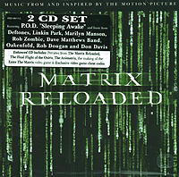 Matrix Reloaded. Music From And Inspired By The Motion Picture (CD + ECD) matrix reloaded music from and inspired by the motion picture cd ecd