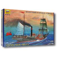 """Колесный пароход """"Сириус"""" стал легендарным и навсегда вошел в историю мировых новостей 22 апреля 1838 года. Он стал первым судном, пересекшим Атлантический океан исключительно на паровой тяге. Дорога из Корка в Нью-Йорк заняла у """"Сириуса"""" 18 дней и 10 часов и он всего на несколько часов опередил конкурента - пароход """"Грейт Вестерн"""", который ушел в море на четыре дня позже. Набор для склеивания парохода """"Сириус"""" развивает интеллектуальные и инструментальные способности, воображение и конструктивное мышление. Прививает практические навыки работы со схемами и чертежами. Идеально подходит для подарка! Моделистам до 10 лет при сборке модели рекомендуется помощь взрослых."""