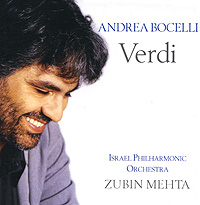 Андреа Бочелли,The Israel Philharmonic Orchestra,Зубин Мета Andrea Bocelli. Verdi андреа бочелли andrea bocelli cinema