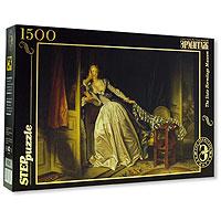 Поцелуй украдкой (Жан Оноре Фрагонар). Пазл, 1500 элементов